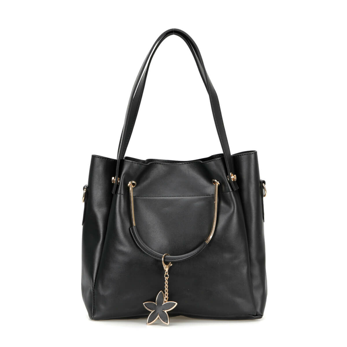 FLO WERT1310 Black Women Sleeve Bag BUTIGO