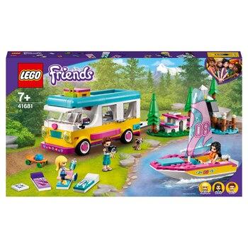 Конструктор LEGO Friends Лесной дом на колесах и парусная лодка 2