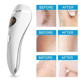 600000 Flash Permanent Ipl Epilator Depilador Facial Permanent Laser Hair Removal Women Painless Threading Hair Remover Machine