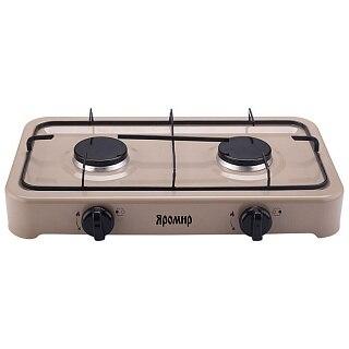Gas Stove Table 2-конфорочная яромир яр-3012 Beige