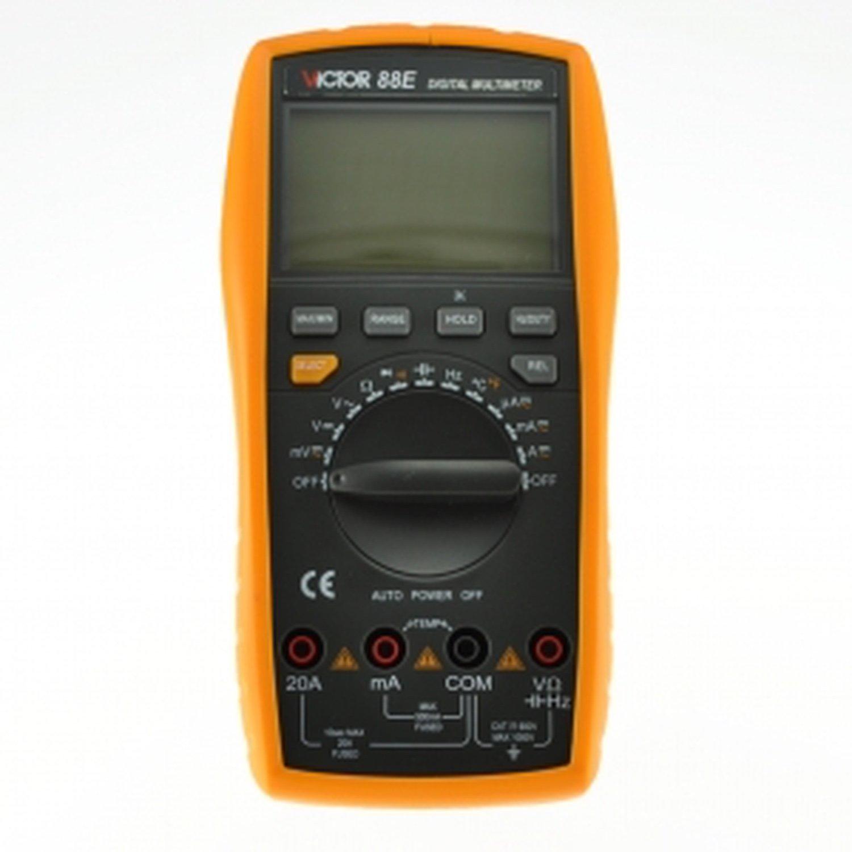 Digital multimeter VICTOR 88E victor 77 digital process multimeter vc77