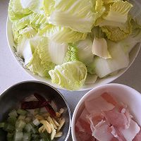 酸辣白菜的做法图解2