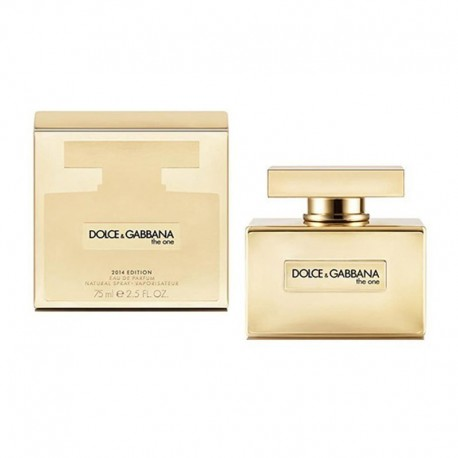DOLCE & GABBANA THE ONE EDP 75ML GOLD