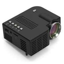 Projector Movie Mini 3D Hd UC28C LCD Remote-Control Portable