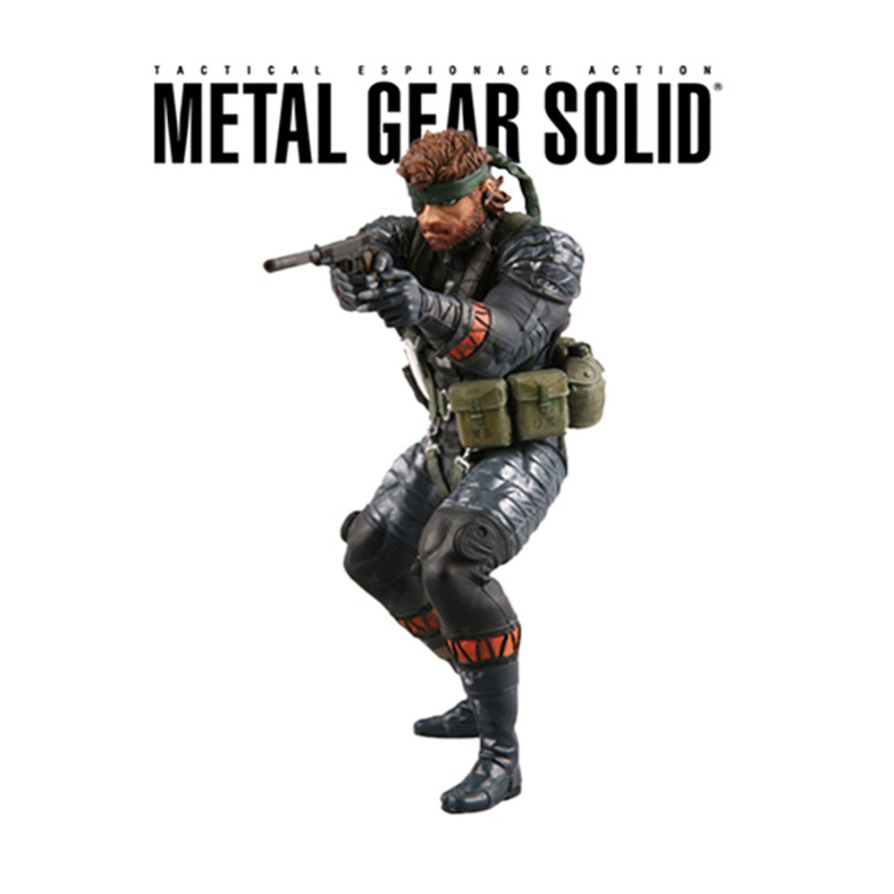 Metal Gear Solid Figure Collectible Figure Comic Snake Raiden Ultra Detall Figure In Bliste