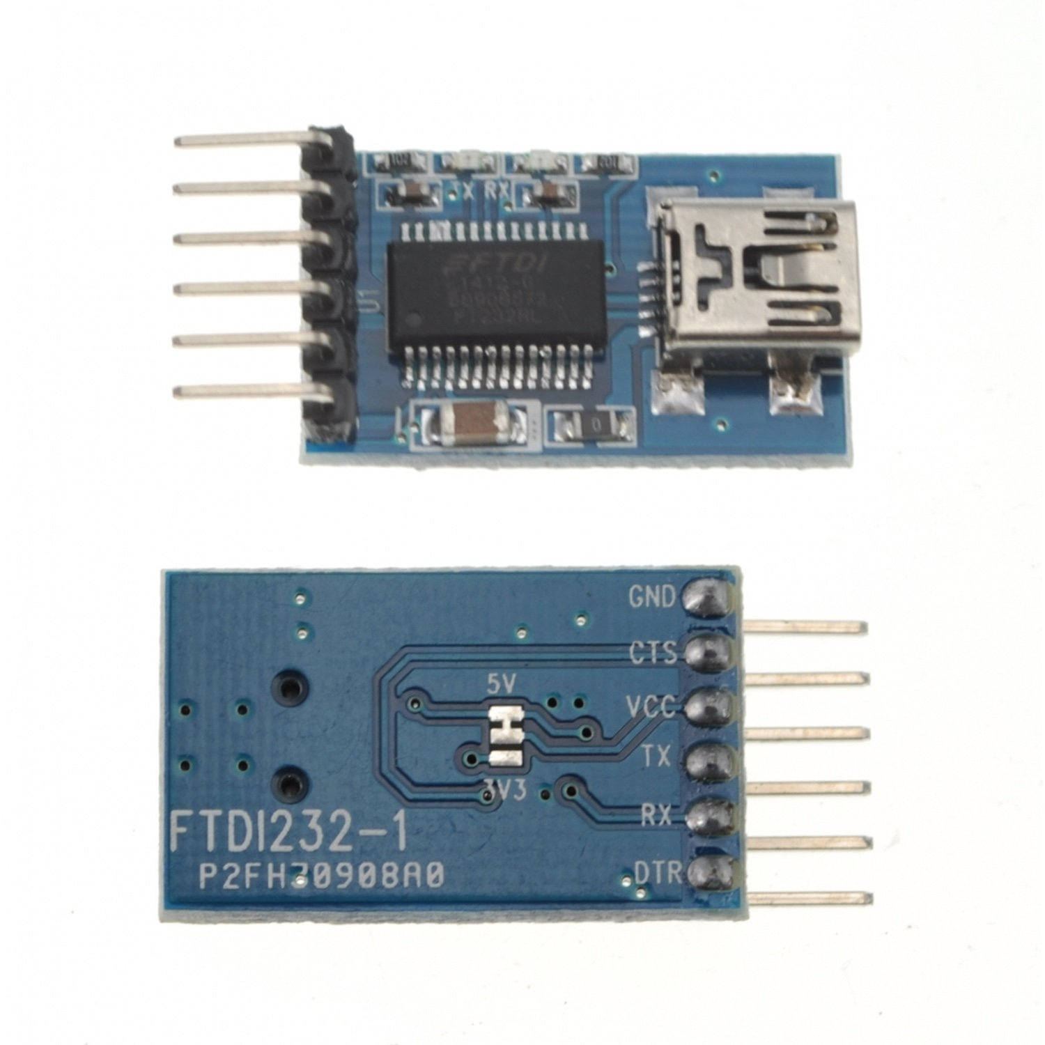 3.3v 5.5v Ft232rl Ftdi Usb to Ttl Serial Adapter Module for Arduino Mini Port yn4561 liuhe a serial module usb 485 422 232 ttl cp2102 serial port com