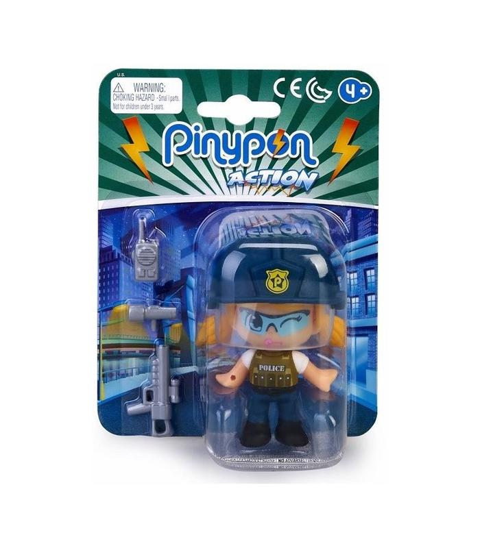 Pinypon Action Figure Police Squad Sniper Toy Store
