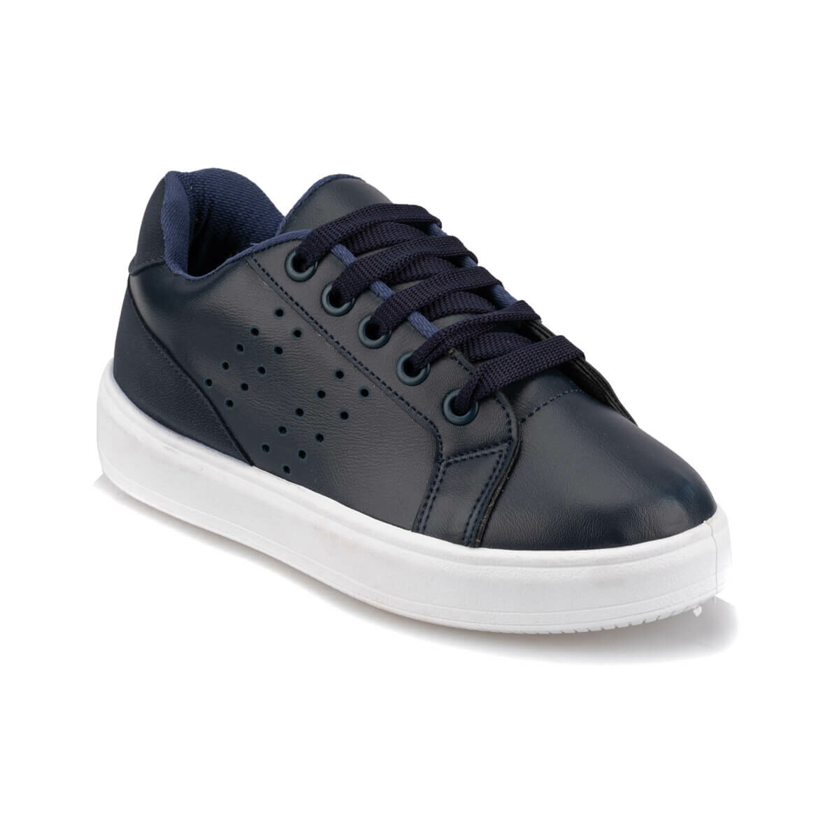 FLO 92.511876.F Navy Blue Male Child Sneaker Shoes Polaris