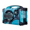 Портативный Bluetooth колонки BRIGMTON BBOX-2 FM светодиодный 25W Синий
