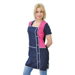 Women work robe for seller ivuniforma vanilla dark blue