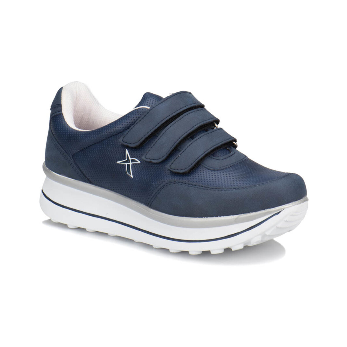 FLO PAULET Navy Blue Women 'S Sneaker Shoes KINETIX