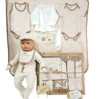 2020 Baby Spring Autumn Clothing Newborn Infant Baby Boy Girl Organic 10 Piece Farm Clothes Jumpsuit Infant Romper Clothing