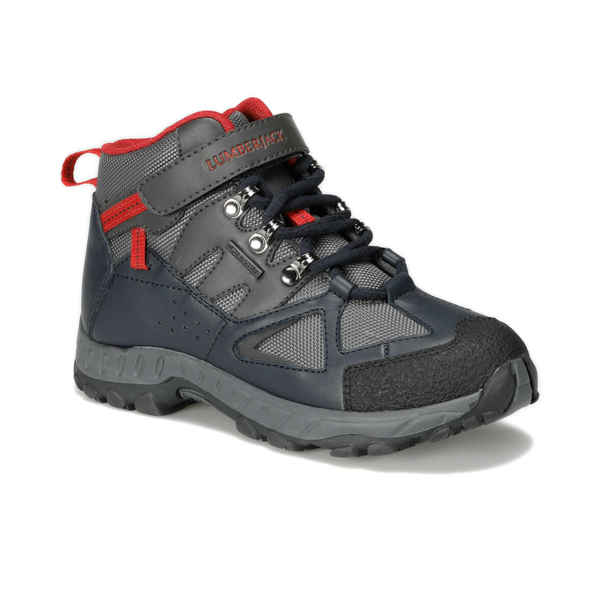 FLO SALSAS 9PR Navy Blue Male Child Outdoor LUMBERJACK