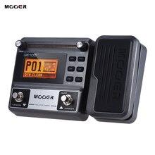 MOOER Pedal para guitarra GE100, efecto de procesador de múltiples efectos, Pedal con grabación en bucle (180 segundos)