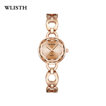 WLISTH Women Watches Style Bracelet Steel Band Watch Ladies Fashion Wristwatch Small Waterproof Thin Strap Student Quartz Watch hot unique genena women watches fashion leather strap vantage design quartz watch bracelet ladies wristwatch drop shipping f20