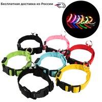 Collar de perro Led Anti Pérdida/evitar accidentes de coche Collar para perros cachorros Collar de perro lleva LED suministra productos para mascotas Collares Hogar y jardín -