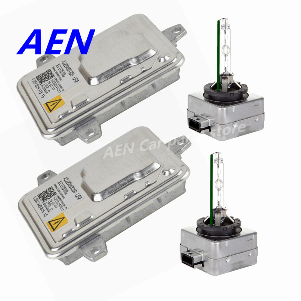 New For Mercedes W117 CLA200 CLA180 W156 GLA 200 220 180 D3S HID Headlight Kit Car Styling D3S Bulb Ballast A2229003300 Q02