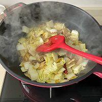 白菜五花肉炖粉条的做法图解5