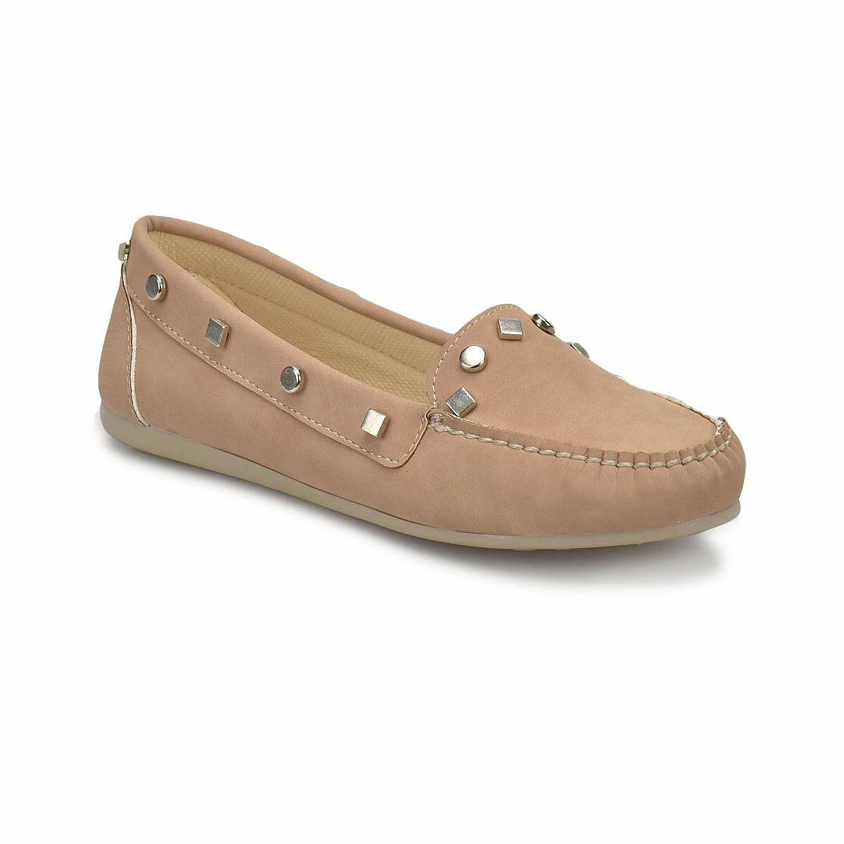 FLO DS18016 Pink Women Loafer Shoes Miss F