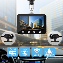 Car DVR Cameras Video-Recorder SYS Dash-Cam Night-Vision Sony Imx323 Wifi Rear-View Front