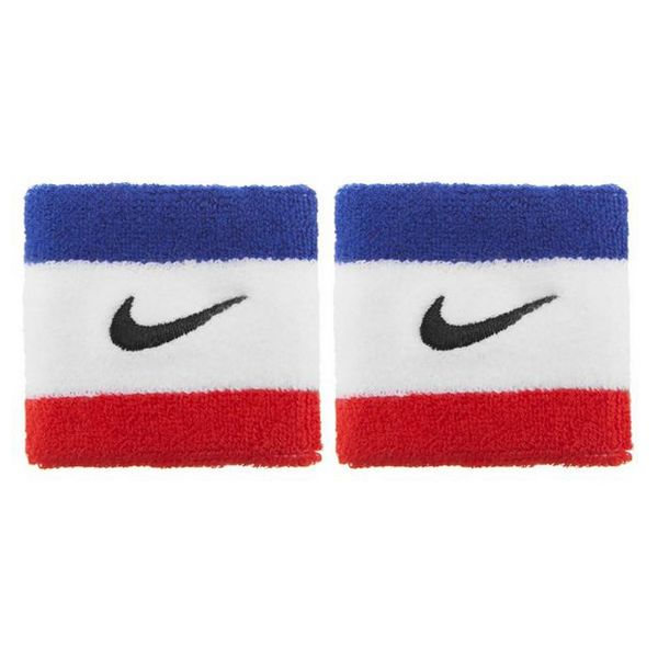 Sports Wristband Nike Swoosh (2 Pcs)