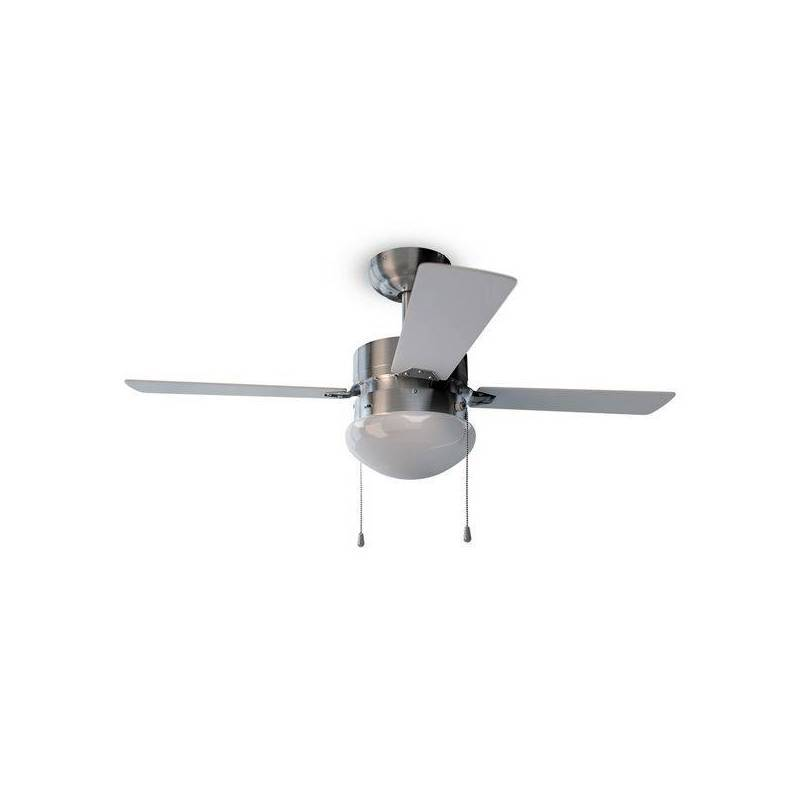 Ceiling Fan With Light Cecotec Forcesilence Aero 450 50W