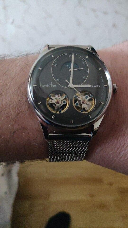 -- Automático Homens Relógio