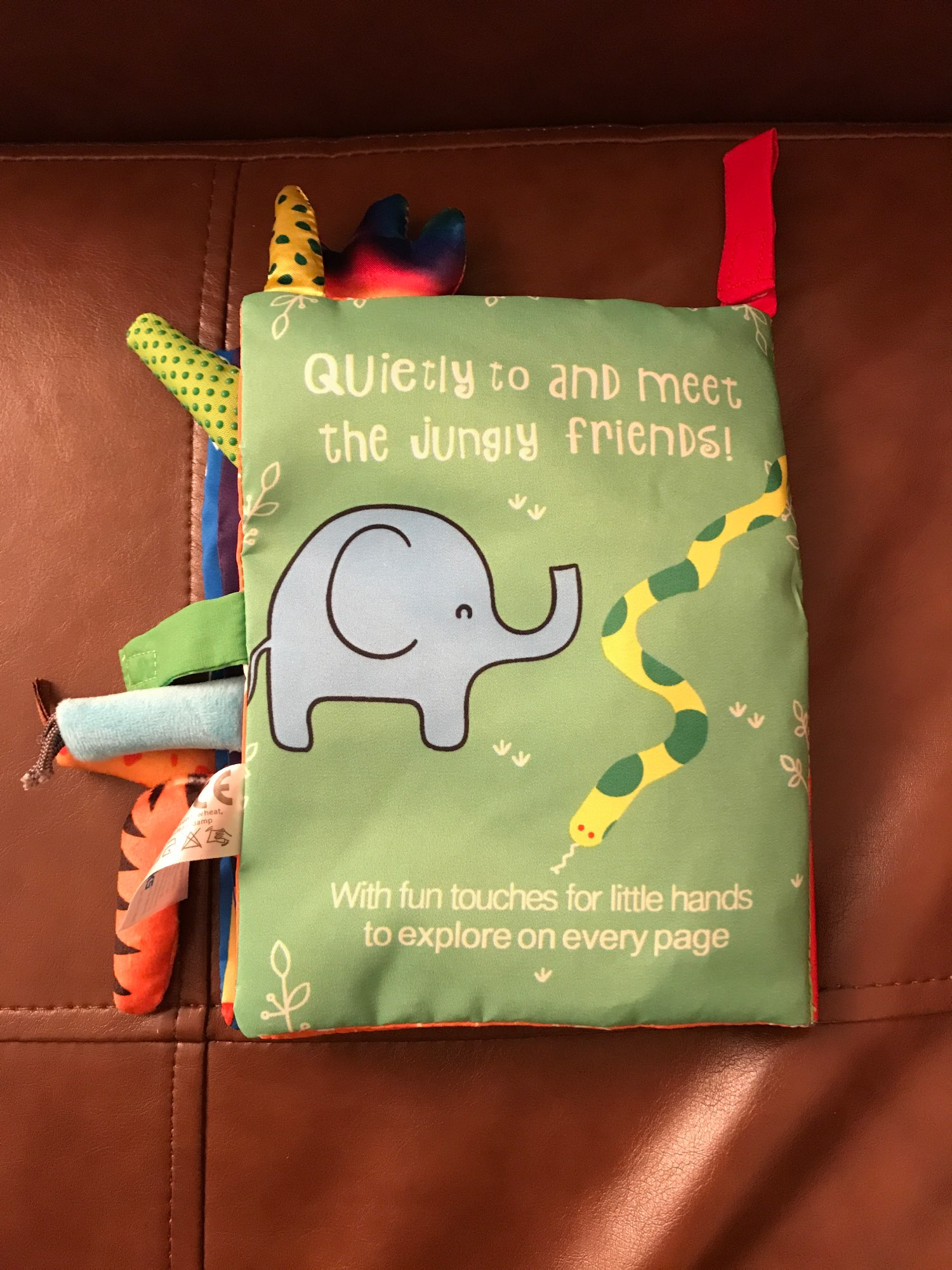 Garden Tail Clothing Book For Early Learning | baby learning books photo review