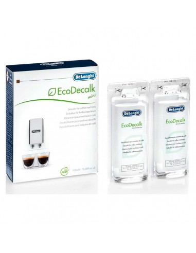 Liquid Descaler Coffee Machines De'longhi Ecodecalk MINI Pack 2x100 Ml
