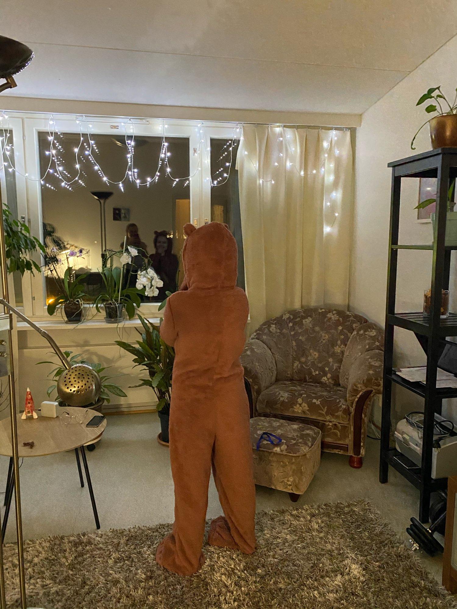 Winter Warm Furry Onesie - cossieshop photo review