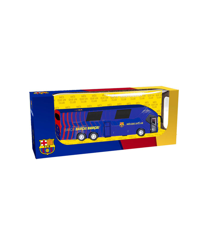 Bus Long F.C Barcelona Toy Store Articles Created Handbook