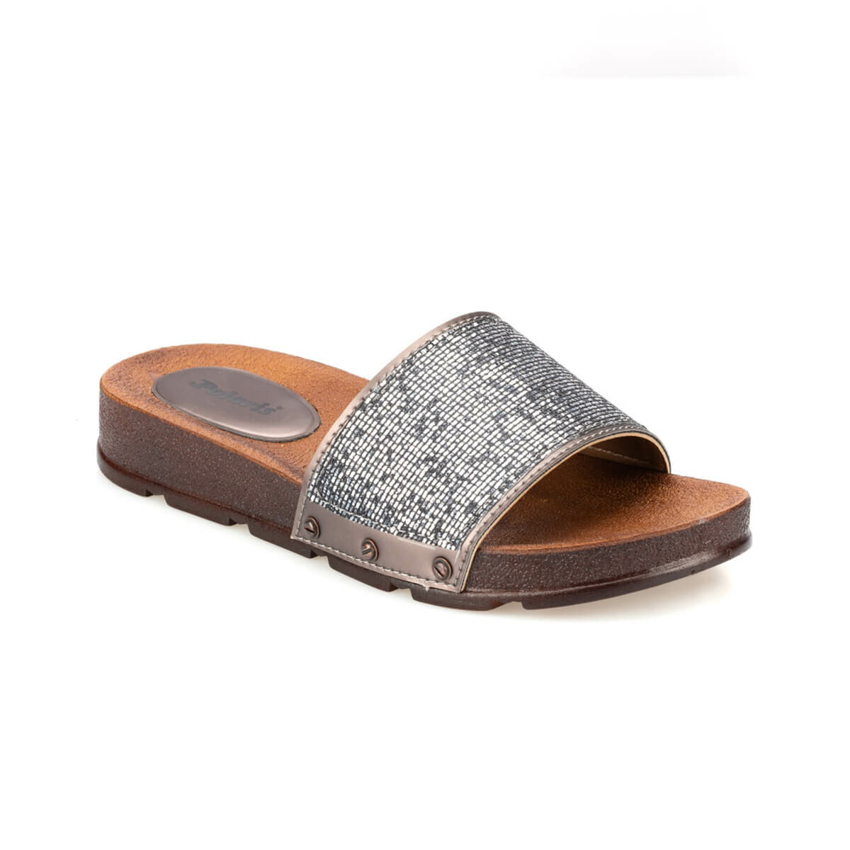 FLO 91.313583.Z Bronze Women 'S Slippers Polaris