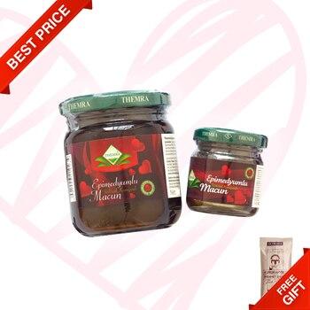 Themra Epimedium Turkish Honey Mix Macun Horny Goat Weed Ginseng Herbal Aphrodisiac-English Paste, 43gr 100 Halal