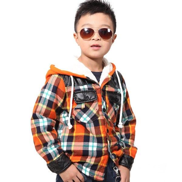 aa4801f51 XIAOYOUYU Add Fleece Kids Outdoor Warm Coats Size 110 150 cm New ...