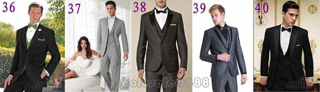 d29c788378b0 Fashionable Mens Suits Groomsmen Notch Lapel Groom Tuxedos Light Grey  Strips Wedding Best Man Suit (Jacket+Pants+Tie+Vest) A60-in Suits from Men s  Clothing ...