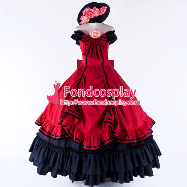 Kuroshitsuji Black Butler Ciel Phantomhive Dress Cosplay Costume Tailor-made