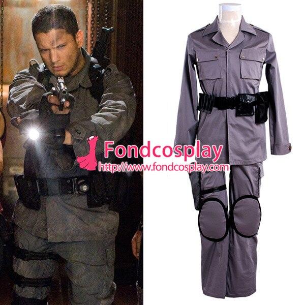 Resident Evil Afterlife Chris Redfield Suit Jacket Pants