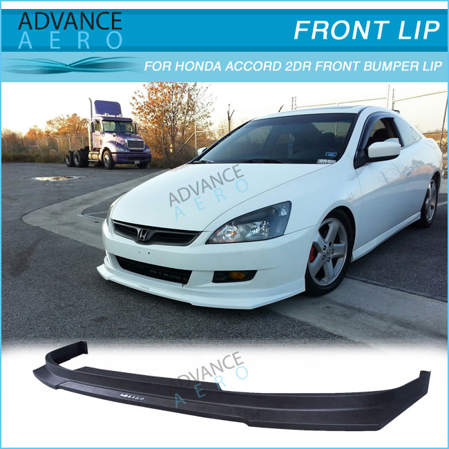 For 06 07 Honda Accord 2 Door Hc1 Style Polypropylene Pp Front Per Lip Spoiler Baody Kits In Pers From Automobiles Motorcycles On Aliexpress