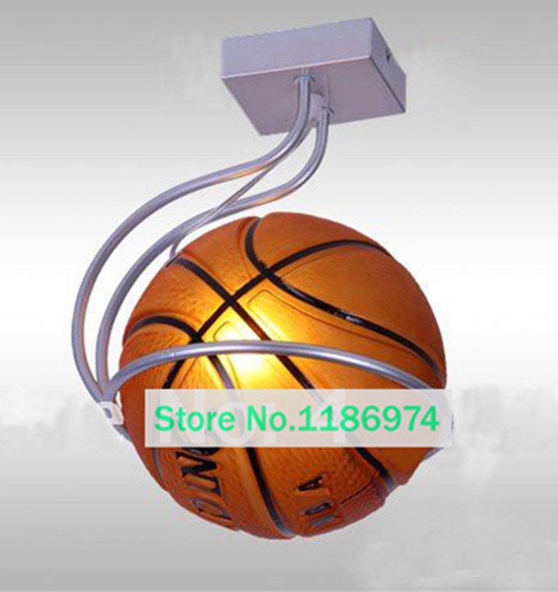 Kids Ceiling Lamp Basketball Simple Bar Hanging Light Children Room Bedroom  Lamp Sport Lighting Fixtures Kids Room Pendant Light In Pendant Lights From  ...