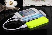 1 пк / лот 7 Вт SD солнечный панель зарядное устройство + USB 5 в + 4200 мА гальваника аккумулятор питания для iPhone / ежевики + производитель