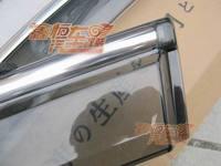 окно козырек вентиляционные с хромированной отделкой для Аутлендер 2007-2010 2011
