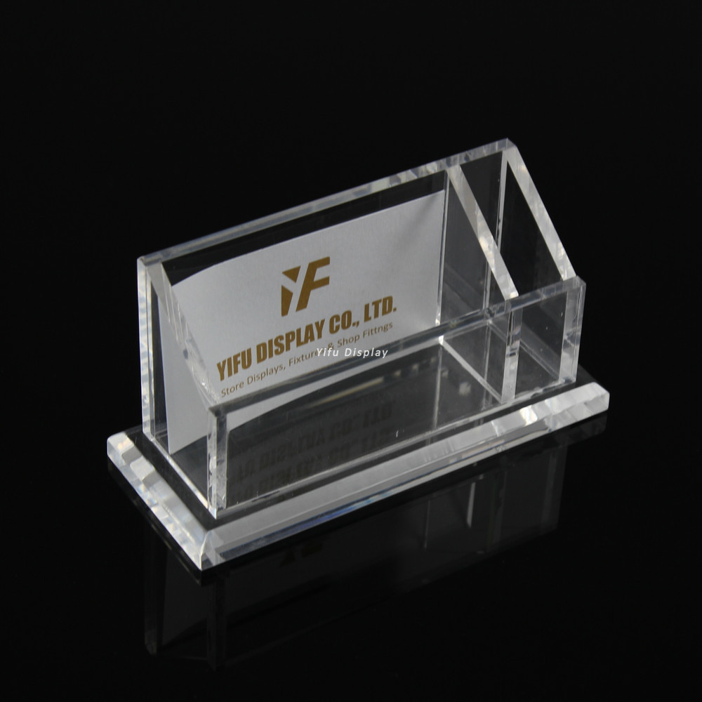 Free Shipping Acrylic Business Card Display Clear Acrylic Business Name Card Holder Stand With Pen Stand Card Display Stand Acrylic Pen Display Standstand Holder Aliexpress