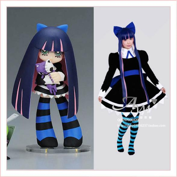 0c2fd278560 Panty Stocking With Garterbelt Anarchy Stocking Dress Cosplay Costume  Tailor-made