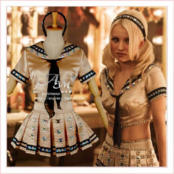 Sucker Punch Baby Doll Dress Cosplay Costume Tailor-made