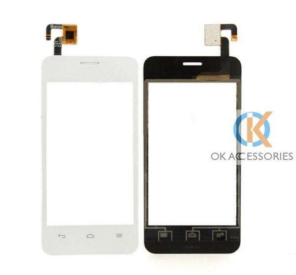 черный/белый цвет высокого качества для хуавей y320 датчика экраном дигитайзер датчик панель 10 шт./лот