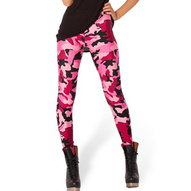 8b44b9403f9771 HOT Sexy Fashion Womens Leggins Galaxy Colorful Pants CAMO PINK LEGGINGS  LIMITED Woman Pants Free Shipping-in Leggings from Women's Clothing on ...