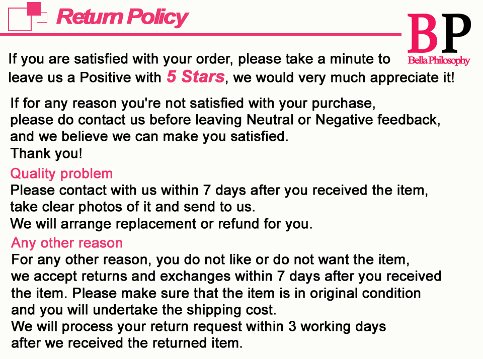 Return Policy0503
