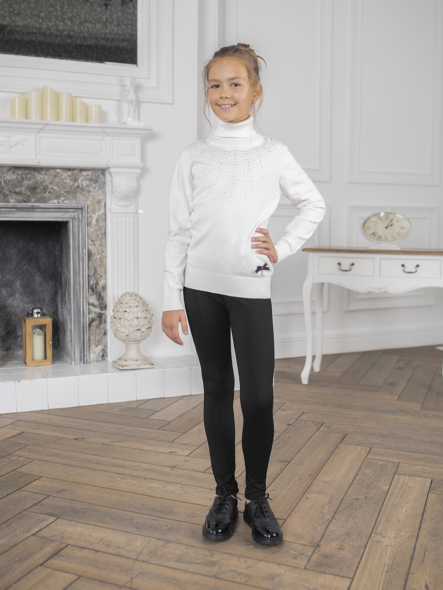 [Available with 10.11] turtleneck knitted girls turtleneck shift sweater dress