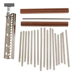 17-Key Kalimba DIY Parts Thumb Piano Mbira Mbrimba Finger Musical Percussion