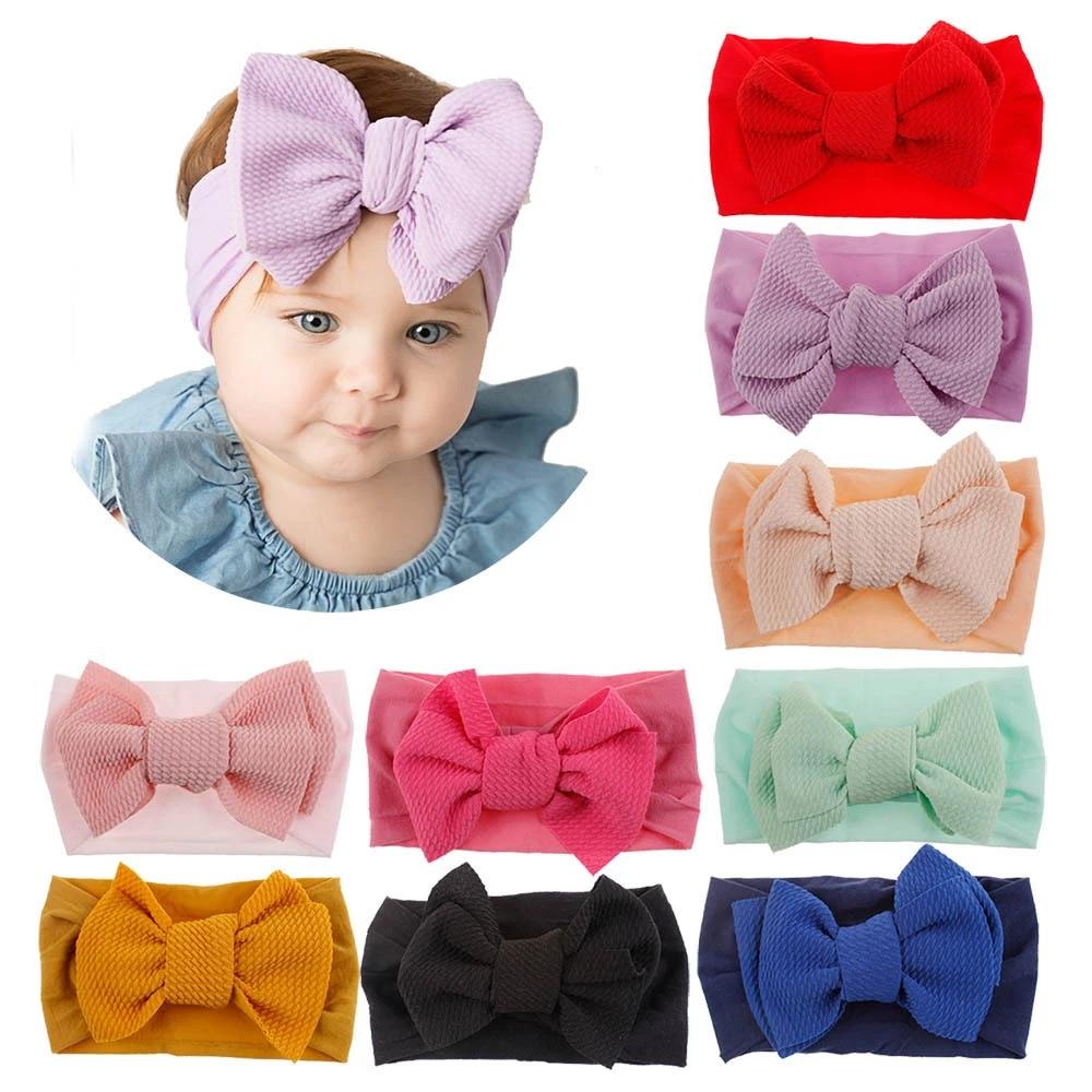 FINAL  Royal Blue  Little Bow  Big Bow  Clips or Nylon Headband  Baby  Toddler  Headwrap  Hair accessory
